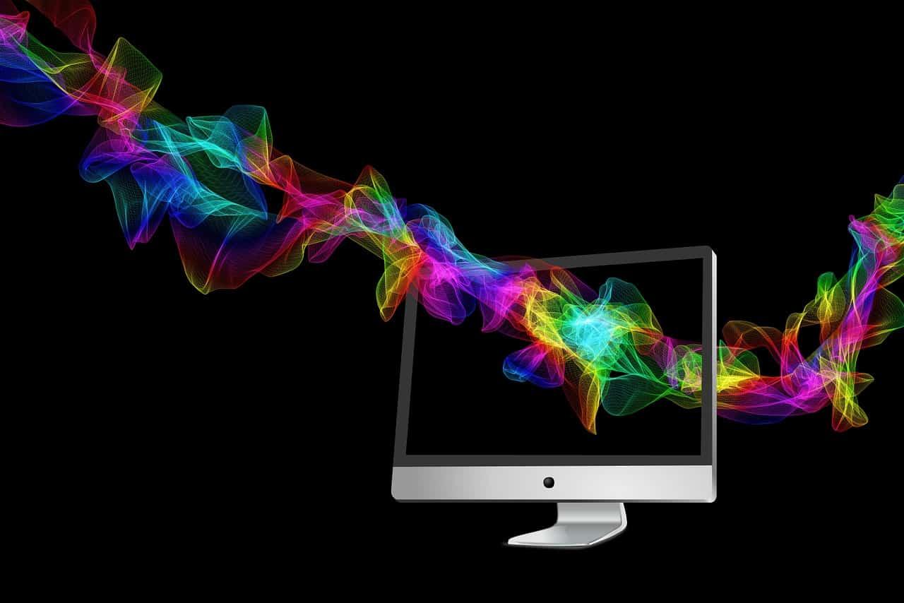 מסך של מחשב